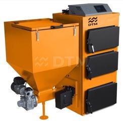 Котел твердотопливный DTM Iron 25 кВт