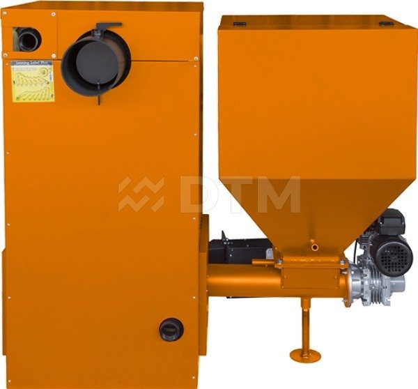 Котел твердопаливний DTM Iron 25 кВт. Фото 3