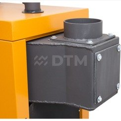 Котел твердотопливный DTM Turbo 10 кВт. Фото 8